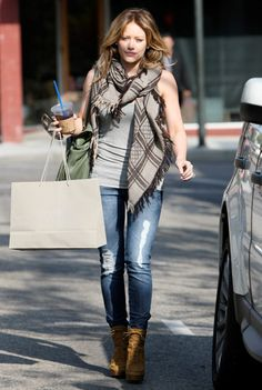 hilary duff outfits | Fashion » Celebrity Style: Hilary Duff's Outfit