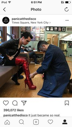 Kinky in those boots