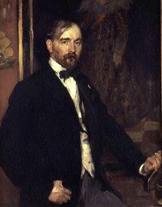 Portrait of Gari Melchers by J.J. Shannon, 1903