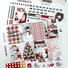 It seems planner land is quickly moving into Christmas stickers and Coffee Brain Plans is no different. Our first of very few holiday kits is ready to be listed Friday in time for the Made in Canada sale. I'm all over traditional colors this year. Last year I went with a pink Christmas and still love it so much that i may revamp for this year as well. Have you purchased all your holiday kits yet? Christmas Stickers, Pink Christmas, Brain, Friday, Canada, Kit, Traditional, How To Plan, Coffee