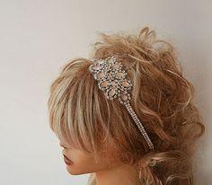 Hey, I found this really awesome Etsy listing at https://www.etsy.com/listing/203776908/headband-rhinestone-headband-bridal