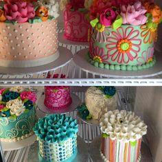 Imagem de buttercream, cakes, and food