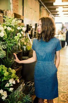 awesome Tenue de journée et soirée : Beautiful chambray dress