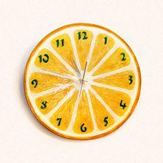 Часы Лимон
