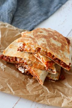 Quesadillas Med Kødsauce – One Kitchen – A Thousand Ideas