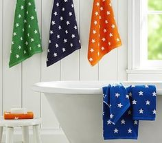 Baby Bath Accessories, Hooded Towels & Bath Toys   Pottery Barn Kids