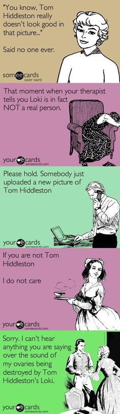 Tom Hiddleston Tag - a lil obsessed and a whole lotta smitten