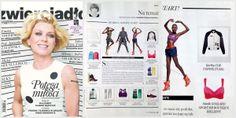 I druga publikacja w lipcowym Zwierciadle w dziale Na temat o sportowych inspiracjach w modzie i nasza kurtka z Cop.Copine