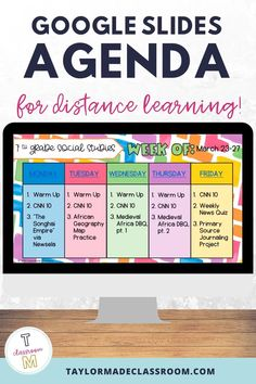 Online Classroom, School Classroom, Google Classroom, Classroom Agenda, Classroom Rules, Weekly Classroom Newsletter, Classroom Management Primary, Classroom Icebreakers, 7th Grade Classroom