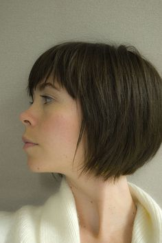 Short bob with fringe...Next haircut?