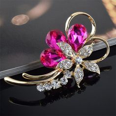 Jewelry. Bouquet Brooch, Red Green Blue Flower Crystal Rhinestone Brooch Pins BroochDeep discounts on over 300 products that enhance your life from day to day! Items for men and women of all ages, also teenagers. Take a look at our #jewelry #handbags #outerwear #electronicaccessories #watches #umbrellas #gpspettracker  #Songbirddeals #sunglasses #Purses