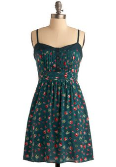 This dress would look beautiful with my jean jacket and my boots!