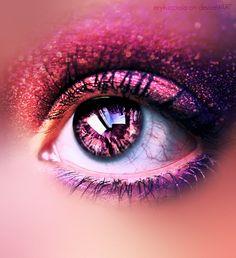 Blazakyn's eyes