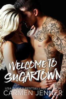Welcome to Sugartown    Welcome to Sugartown  by Carmen Jenner  Book: Sugartown  Publisher: Carmen Jenner  PubDate: 2013  Genre: New Adult  Format: Print  Source: Bought  BookLinks:GoodreadsAmazonBook Depository  Ana Belle never wanted anything more than to hang up her apron jump on her Vespa and ride off into the sunset leaving Sugartown in the dust.  Elijah Cade never wanted anything more than a hot meal a side of hot arse and a soft place to lay his head at night where he could forget…