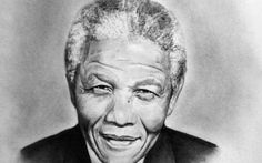 Former South African President Nelson Mandela has died at age 95 of complications from a recurring lung infection.The anti-apartheid leader and Nobel Peace Prize laureate was a beloved figure around the world, a symbol of reconciliation. Black Presidents, Nobel Peace Prize, We Are The World, African American History, Yahoo Images, We The People, Namaste, Famous People, Mandela Art
