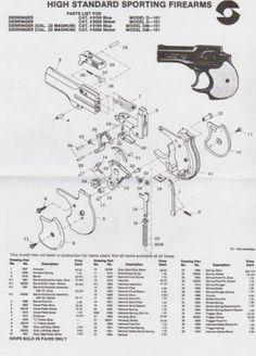 Homemade derringer pistol plans by Professor Parabellum