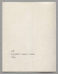 "John Cage - ""4'33″ (1952/1953)"
