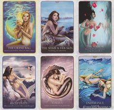 Oracle of the Mermaids by Lucy Cavendish and Selina Fenech. I'm a huge fan of Fenech's artwork!