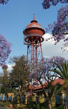 Johannesburg Skyline, Water Tower, Water Supply, Towers, Portal, South Africa, Landscape Photography, African, History