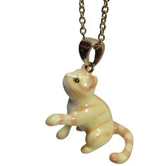 Pleading Cat Necklace | Pony Lane