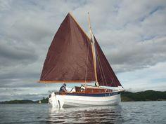 Image result for gaff rig sailboat