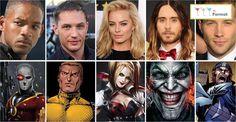 Актеры «Отряда самоубийц» в сравнении с персонажами комиксов