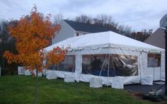 Parties | BC Tent & Awning, outdoor tent, fall tent, frame tent, tent walls, cafe walling