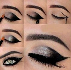 Diferentes tipos de delineados de ojos  Cuestiones de mujeres By C.