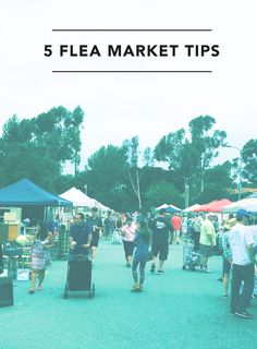 "Tips to keep in mind for your Antique ""flea"" market adventure"
