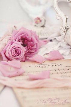 20 Ideas For Flowers Pink Vintage Ana Rosa Rosa Shabby Chic, Vintage Shabby Chic, Vintage Pink, Vintage Sweets, Vintage Roses, Vintage Teacups, Antique Roses, Vintage Music, Romantic Roses