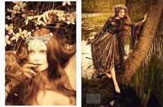 Eniko Mihalik in Vogue Italia, July 2012