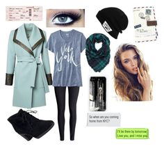 """""""Trip to NYC """" by style4everxoxo on Polyvore featuring H&M, Old Navy, Clarks, Vans and Disaster Designs"""