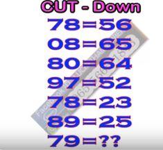 Thai Lottery Cut Tips