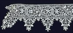 A Step Through Time - Needle lace boarder 1600 - 1620, Victoria and Albert Museum, London