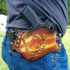 Combo style DTOM since1776 Patriot in brown tones.  Savoyleather.com