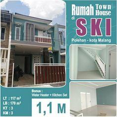 Rumah Baru Town House di kota Malang