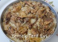 Baked Chicken Rice Recipe Satisfactory flavor for crowded tables Rice Recipes Sandviç tarifi Chicken Rice Recipes, Duck Recipes, Shrimp Recipes, Baked Chicken, Meat Recipes, Healthy Recipes, Iftar, Turkish Mezze, Turkish Recipes