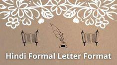 Hindi Formal Letter Format | औपचारिक पत्र कैसे लिखते है ? Lettering, Formal, Preppy, Drawing Letters, Brush Lettering