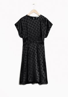 & Other Stories   Glossy Dots Dress