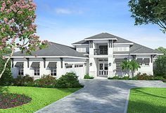 Coastal Home Plans - Crestview Shores