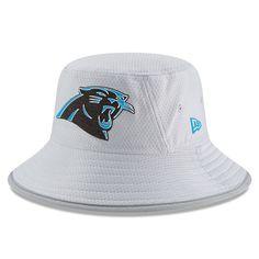 52cd98eb5 Carolina Panthers New Era  18 Training Camp Grey Bucket Hat