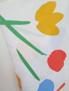 Marimekko Twin sheet set seven flowers kid's room by goodluxe