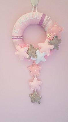 Fiocco nascita cascata di stelle : Altro bebè di le-creazioni-di-alice