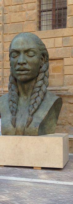Sculpture in Pienza, Pienza, Italy CET/Summer Italian Studies 2015 @cetacademicprograms