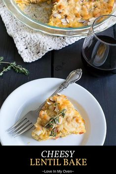 An easy back-pocket meatless meal, this cheesy lentil bake is the perfect lentil recipe for toddlers, and the whole family! Try baking with lentils today! Vegetarian Meals For Kids, Kids Meals, Vegetarian Recipes, Toddler Meals, Veggie Recipes, Free Recipes, Lentil Casserole, Casserole Dishes, Lentil Recipe For Toddler