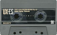 Project C-90 | Catalogue | Compact cassettes | Sony