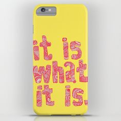 Buy What It Is Yellow by Lush tart as a high quality iPhone & iPod Case. Worldwide shipping available at Society6.com. Just one of millions of products…