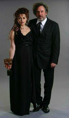 Tim Burton and wife Helena Bonham Carter