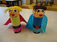 Superhero craft for kids