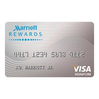 credit cards marriott rewards